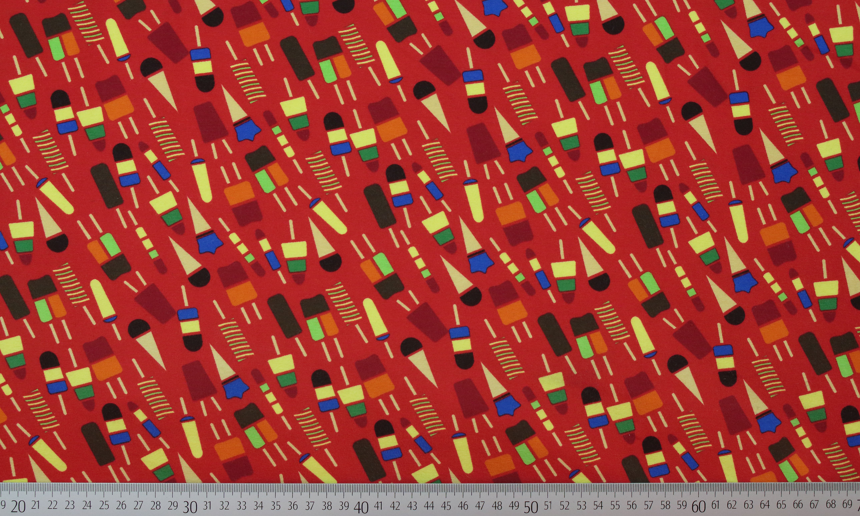 jersey eis 95 in rot und blau baumwolle und 5 elasthan geschwister stoff. Black Bedroom Furniture Sets. Home Design Ideas