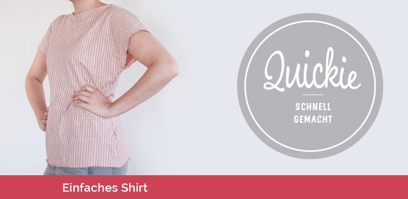 Kostenloses Schnittmuster: ein einfaches Shirt nähen