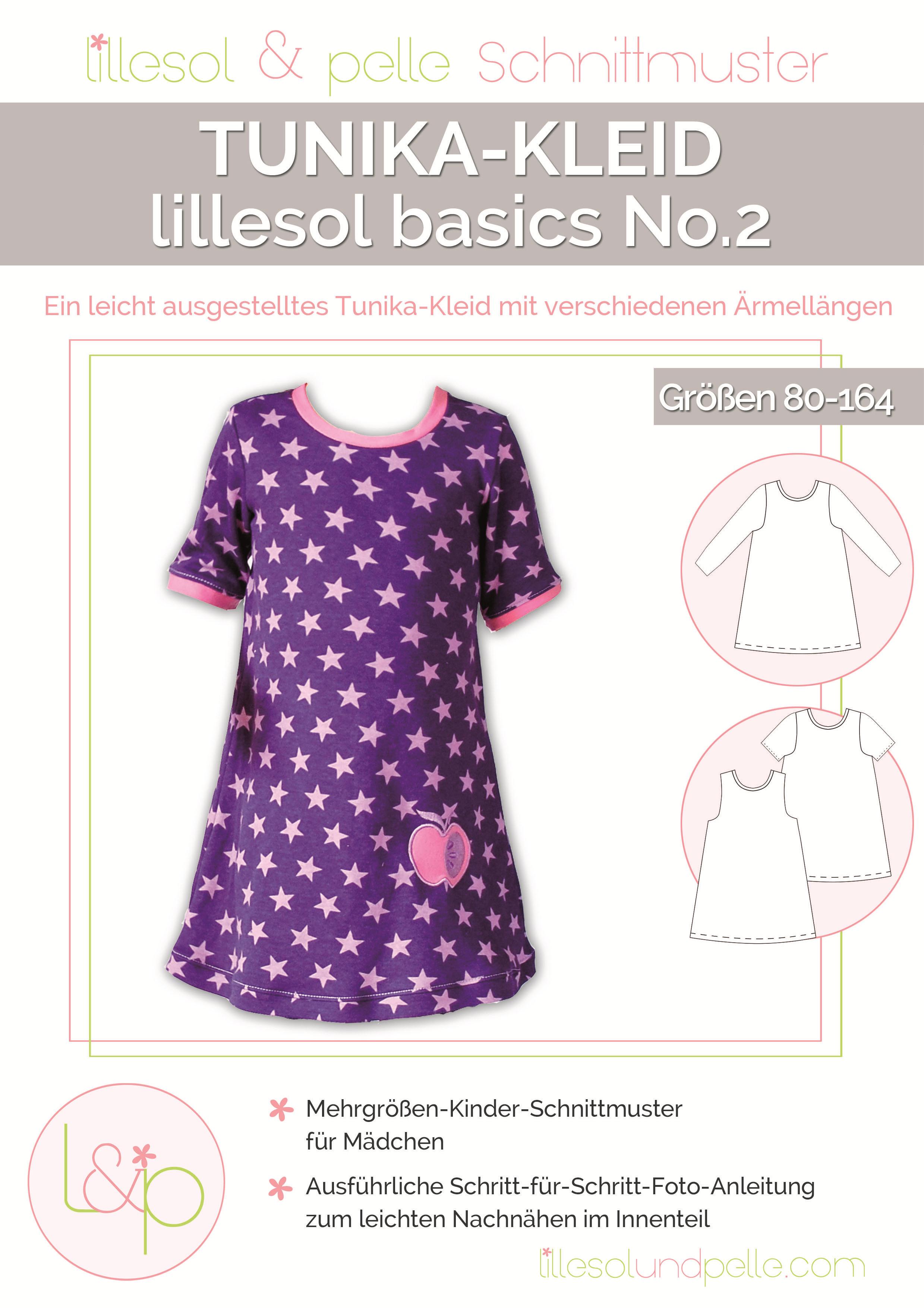 Schnitt: Tuni-Kleid – Ein leicht ausgestelltes Tunikakleid mit ...